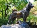 Balto statue Central Park NY