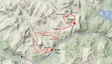 Seppalaløypa 2014 starter ved Grimsbu Turistsenter og går først innover Kakelldalen før den svinger over fjellet til Markbulia i Einunndalen.