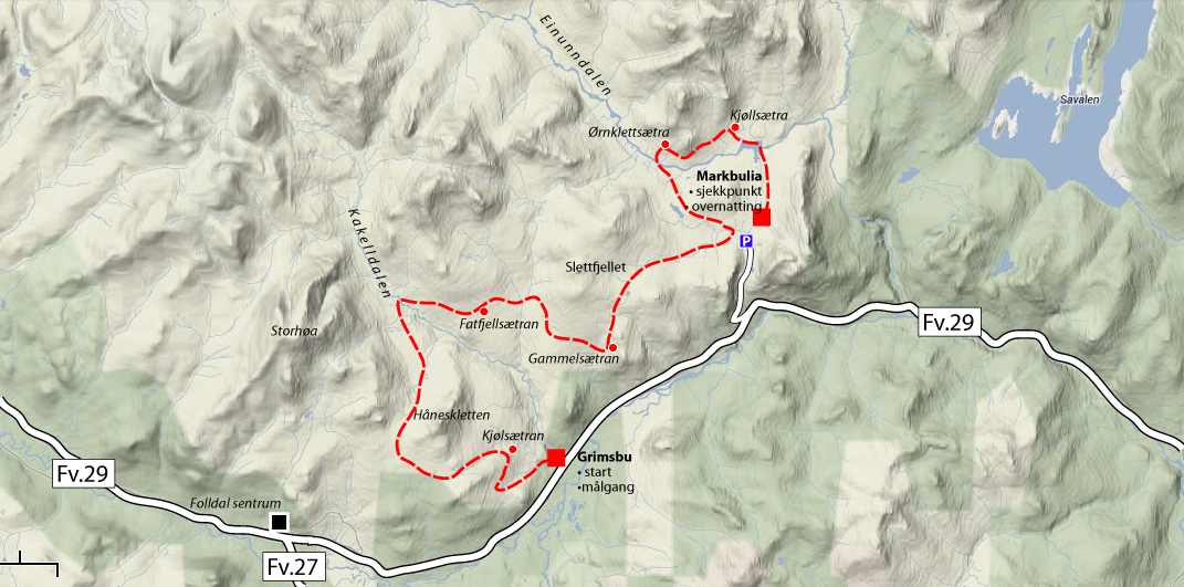 venabygdsfjellet kart Seppalaløpet for 2. gang i Folldal | Seppalaløpet venabygdsfjellet kart