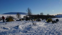 Overnatting på Venabufjellet 2015